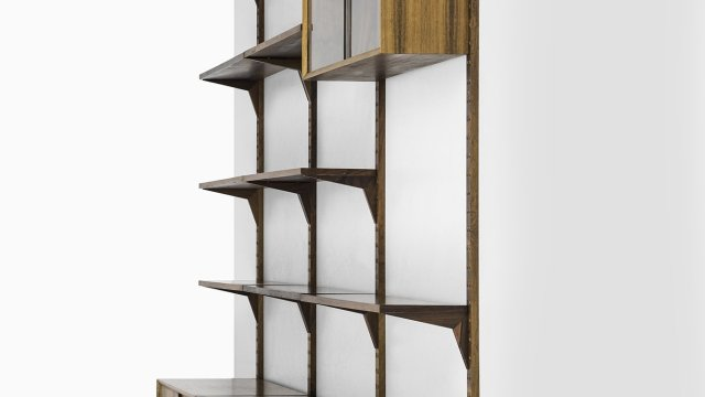Poul Cadovius bookcase 'Cado' in rosewood at Studio Schalling