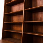 Johan Hagen bookcase in teak at Studio Schalling