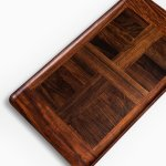 Jens Quistgaard large tray in cocobolo at Studio Schalling