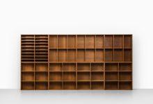 Mogens Koch bookcases in oak at Studio Schalling