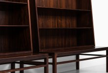 Johan Hagen bookcases in rosewood at Studio Schalling