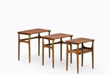 Erling Torvits nesting tables model 15 at Studio Schalling