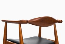 Hans Wegner armchair model CH-35 in teak at Studio Schalling