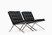 Hans Eichenberger easy chairs by Girsberger at Studio Schalling