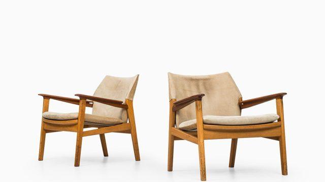 Hans Olsen easy chairs model 9015 at Studio Schalling