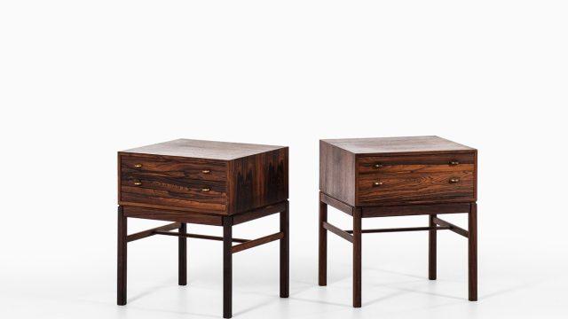 Sven Engström & Gunnar Myrstrand tables at Studio Schalling