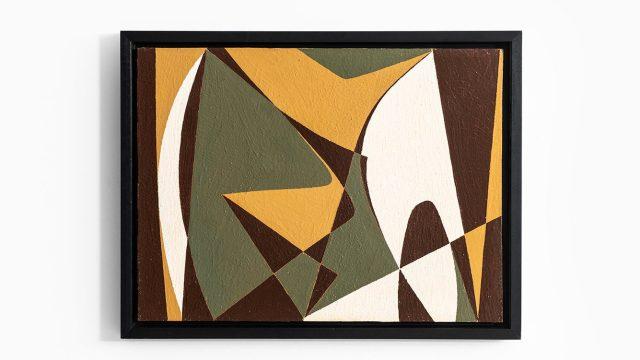 "Harry Booström oil painting ""nr 24"" at Studio Schalling"