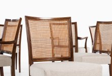Ernst Kühn dining chairs by Lysberg Hansen & Therp at Studio Schalling