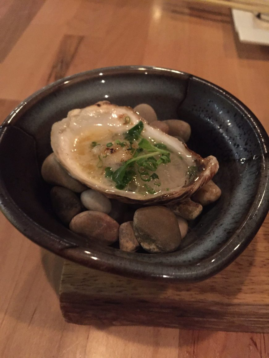 Then the Oyster. Usually not an oyster fan, but this one - I liked!
