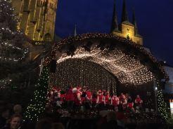 Weihnachtskonzert Domplatz Erfurt 2016