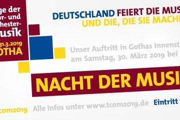 Tage der Chor-und Orchester-Musik 2019 in Gotha