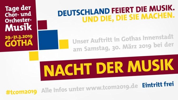 Ensemblebanner V02 TCOM2019 - Tage der Chor-und Orchester-Musik 2019