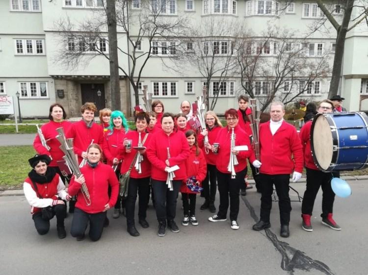 Karnevalsumzug Erfurt 2019 2 - Karnevalsumzug Erfurt 2019