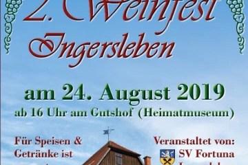 FC286E28 ABD6 4AD1 B39C ED8E519EE26F - Weinfest Ingersleben 2019