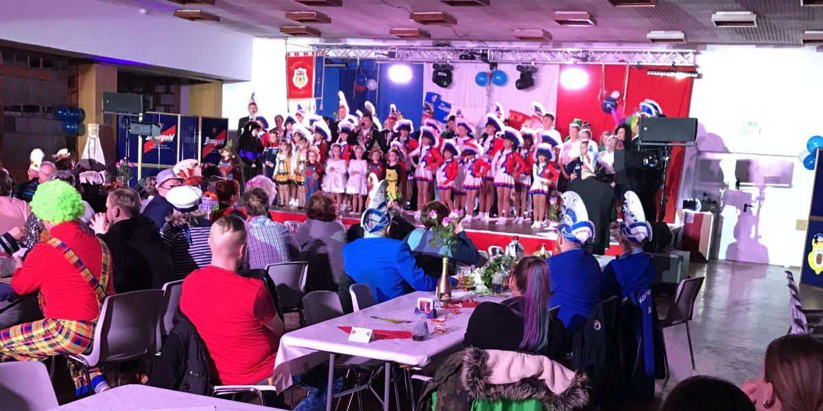 Auftritt zur Festsitzung des KCB in der Alten Parteischule