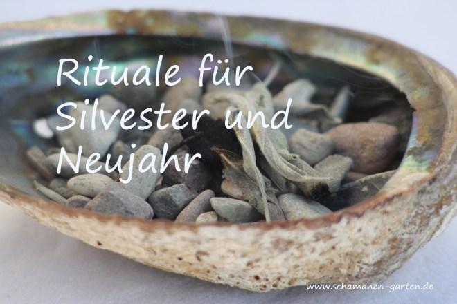 Rituale Silvester, Silvesterrituale Neujahr, schamanisch, Räuchern