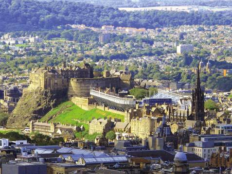 6 Tage Schottland - The Royal Military Edinburgh Tattoo