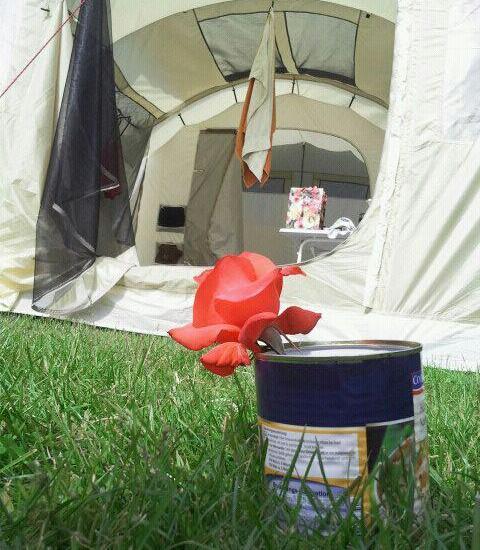 Camping Romantik.