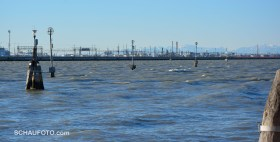 Blick zum Venedig-Damm
