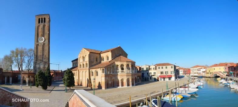 Eine der ältesten Kirchen der Lagune mit deutlich byzantinischem Einschlag: Santi Maria e Donato