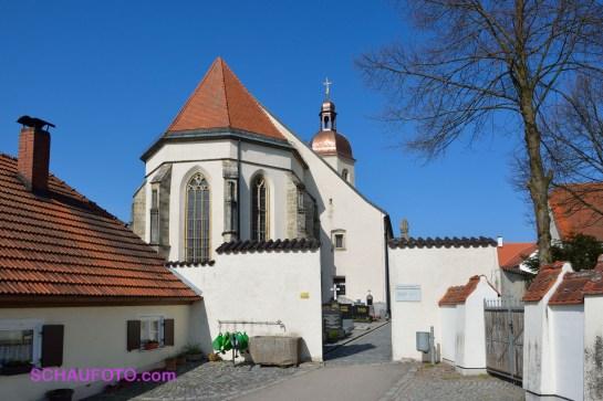 Pfarr- und Wallfahrtskirche Mariä Himmelfahrt auf dem Bogenberg