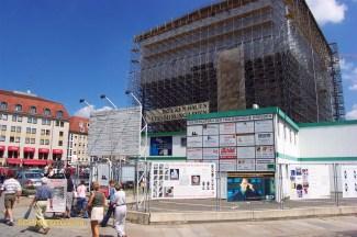 2001 - Baustelle Frauenkirche