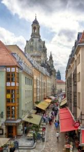 2014 - Münzgasse mit Frauenkirche