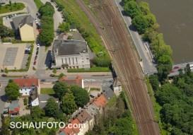 """Der Filmpalast """"Gloria"""" im Luftbild von 2013."""