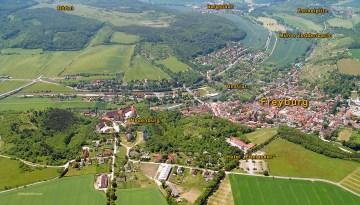 Situationsplan im Luftbild von 2006