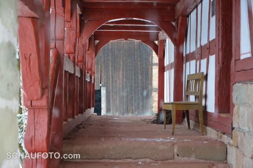 Bauernhaus-Veranda