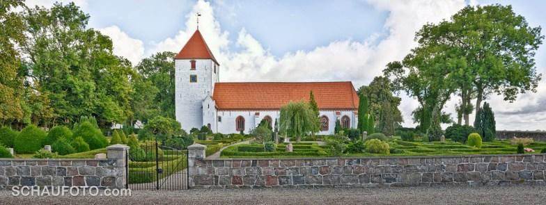 Kettinge Kirche Hauptansicht
