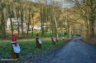 """Zugang zur """"Walkmühle"""""""