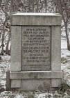 Gedenkstein zum Bauwerk