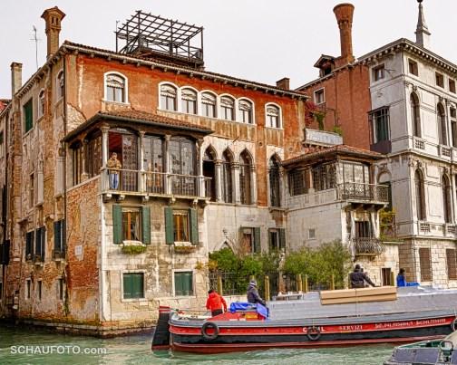 Venezianischer Fotografen-Balkon