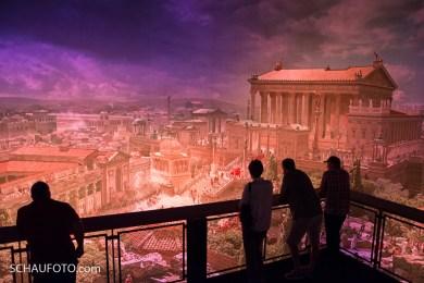 Abendstimmung im Pforzheimer Rom.