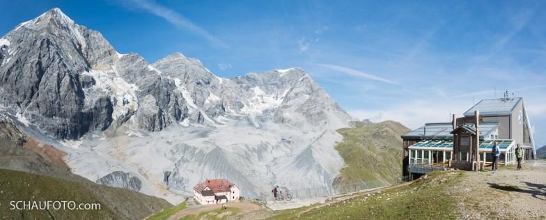 Königsspitze, Mont Zebru, Ortler