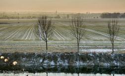 Auf dem Rückweg: Sicht über die Saale nach Naumburg.
