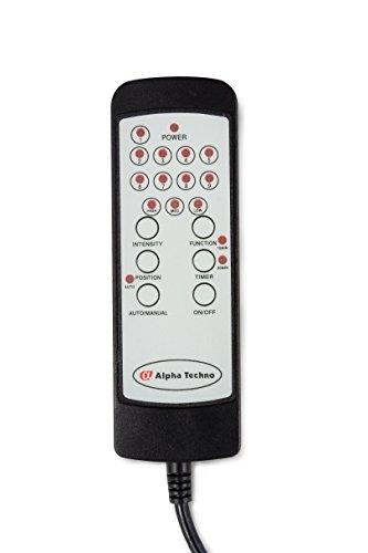Alpha Techno Alpha 2041 schwarz Schwingungsfrequenzmassagesessel, Relaxsessel, Kunstleder, schwarz -