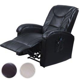 Fernsehsessel Relaxsessel mit Wärme + Massagefunktion Massagesessel mit Fernbedienung (Farbwahl) -