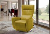 INOSIGN Relaxsessel gelb, inklusive Relaxfunktion, FSC®-zertifiziert