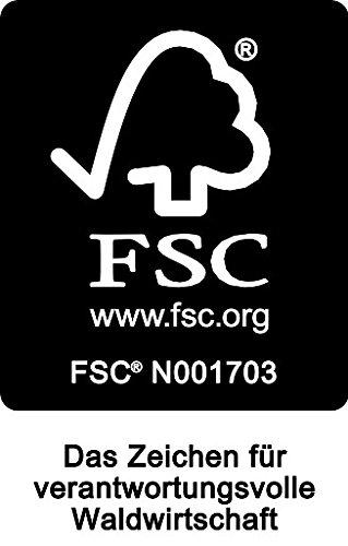 Schaukelstuhl ILVA aus Teakholz, für Innen + Aussen, FSC®-zertifiziert -