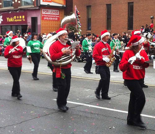 Santa Claus Parade 2013 - Marching Band