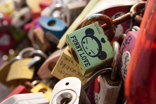 N Seoul Tower Love Locks-17