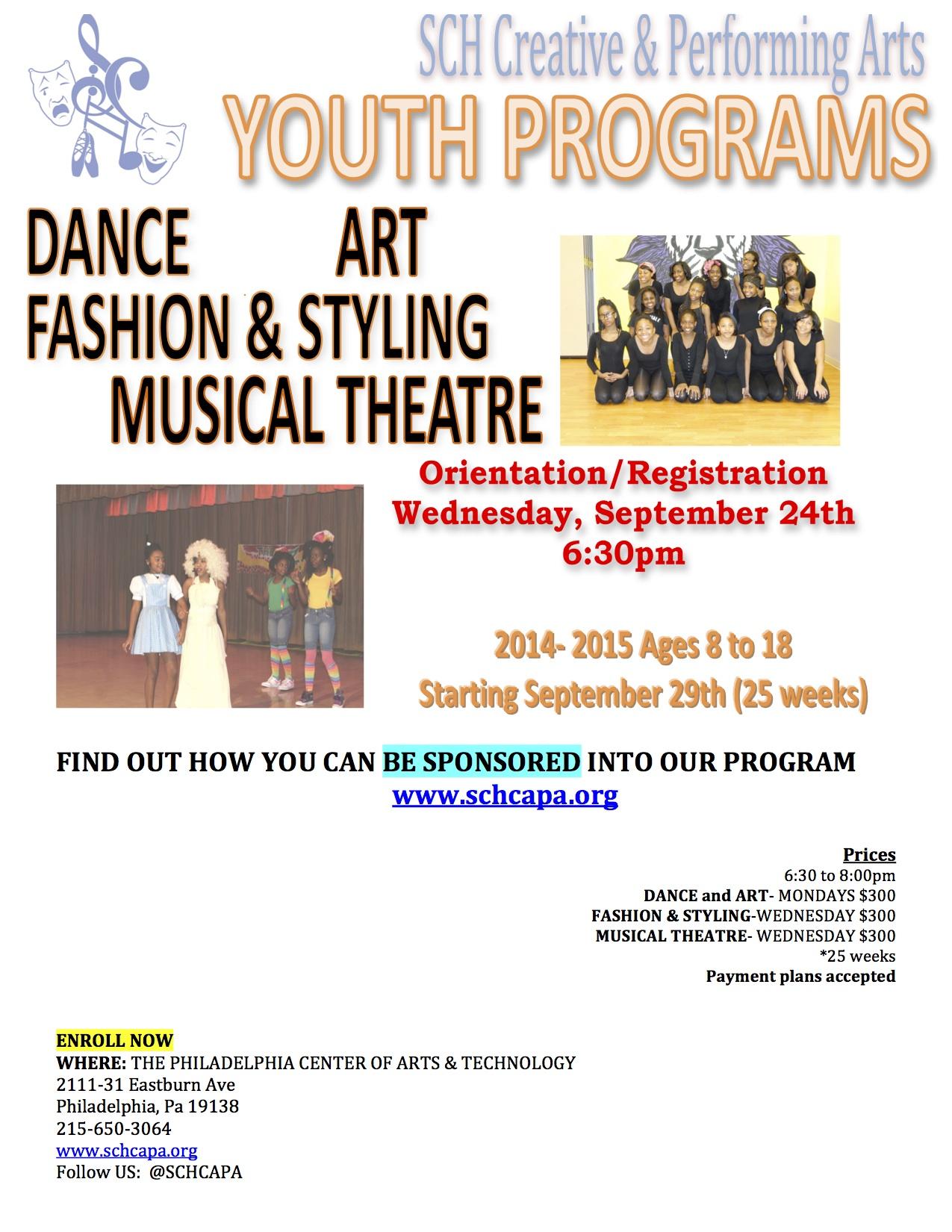 After School SCH Creative Amp Performing Arts Inc