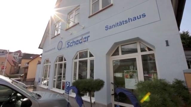 Sanitätshaus Scheder Fassade Würzburg