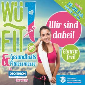 WüFIT Gesundheits & Fitnessmesse 2016