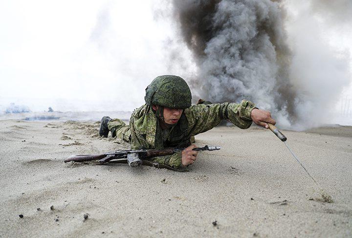 Russian marine