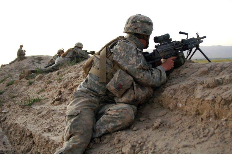 U.S. Army soldiers in Afghanistan.