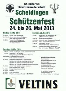 Plakat Schützenfest A515052013_00000