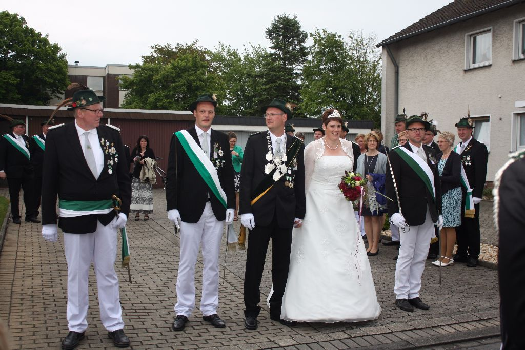 Schützenfest Scheidingen 2015   Fotos: Mandy Hagedorn